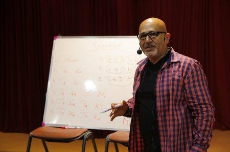 Hakim Ludin's Percussion Workshop in Tehran- June 2014