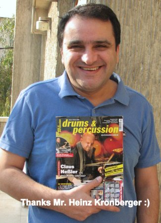 "Farsi Translation of ""drums&percussion"" Interview with Claus Hessler"
