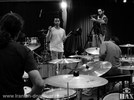 """The first official """"Drum Camp"""" of Iranian Drummer with Shayan Fathi"""