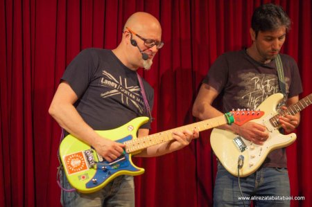 Hosting Christophe Godin for his Guitar Workshop -May 2016
