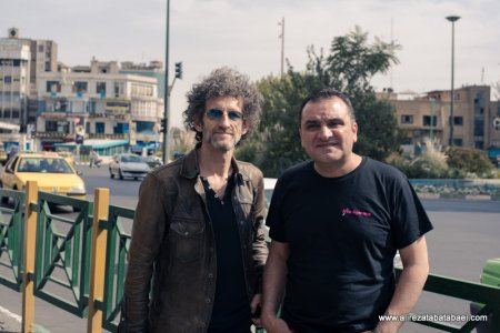 Hosting Jojo Mayer in Tehran - October 2016