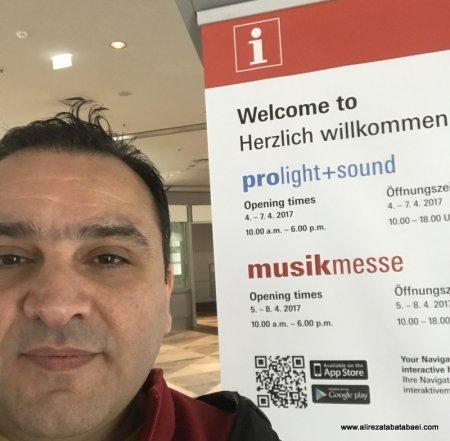 اعزام دومین گروه از نوازندگان ایرانی به نمایشگاه موسیقی فرانکفورت 2017